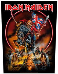 Iron Maiden Maiden England large sew-on back patch  (ro)